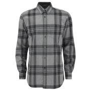 Belstaff Men's Everett Checked Smoke Shirt - Grey