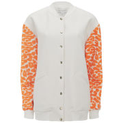 Finders Keepers Women's Once Again Bomber Jacket - White