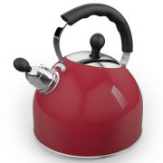 Morphy Richards Equip 2.5Ltr Whistling Kettle - Red