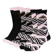Ted Baker Elonda Geo print 3 Pack Socks - Black Multi