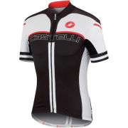 Castelli Free Ar 4.0 Jersey - Black/White/Red