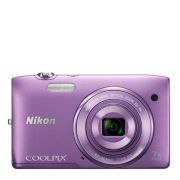 Nikon Coolpix S3500 Compact Digital Camera - Purple  (20MP, 7x Optical Zoom, 2.7 Inch LCD) - Grade A Refurb