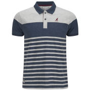 Kangol Men's Eshott Polo Shirt - Grey Marl