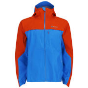 Berghaus Men's Vapour Storm Shell Jacket - Blue/Orange