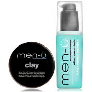 men-ü Refresh and Style Shampoo and Clay Set
