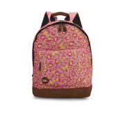 Mi-Pac Custom Pink Leopard Backpack - Pink