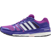 adidas Women's Supernova Sequence 7 Running Shoes - Pink/White/Purple