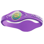 Power Balance -The Original Performance Wristband   Lavender with White Lettering