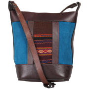 Beara Beara Juanita Leather Cross Body Bag - Blue