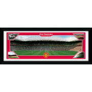 """Manchester United Old Trafford Matchday - 30"""""""" x 12"""""""" Framed Photographic"""