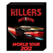 The Killers World Tour - 40 x 30cm Canvas
