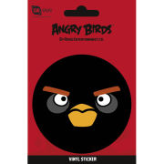 Angry Birds Black Bird - Vinyl Sticker - 10 x 15cm
