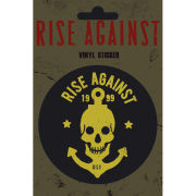 Rise Against Skull Anchor - Vinyl Sticker - 10 x 15cm