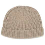 Carven Men's Wool Beanie Hat - Beige