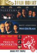 Brad Pitt Triple - Sleepers/Meet Joe Black/Twelve Monkeys