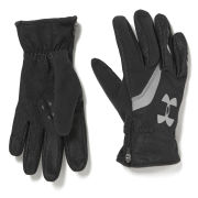 Under Armour Men's Extreme Cold Gear Gloves - Black/Reflective