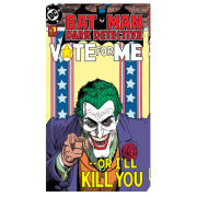 Batman Comic Joker Vote For Me - 30 x 55cm Value Canvas