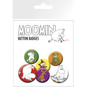 Moomins Characters - Badge Pack