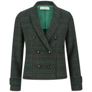 Paul by Paul Smith Women's Tweed Jacket - Green
