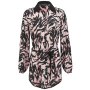 Girls On Film Women's Printed Shirt Dress - Multi