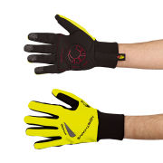 Northwave Men's Power Long Gloves - Black/Fluorescent Yellow
