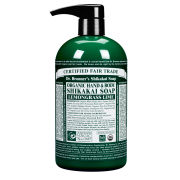 Dr. Bronner Organic Shikakai Lemongrass Lime Hand Soap (709ml)
