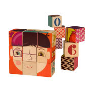 B Wooden Blocks (15Pcs)