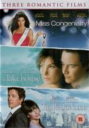 Sandra Bullock Triple Pack (Miss Congeniality / The Lake House / Two Weeks Notice)