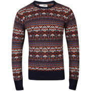 Brave Soul Men's City Jumper - Navy