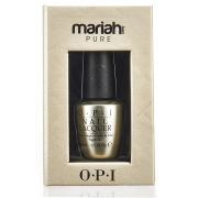 OPI Pure 18K White Gold and Silver Top Coat - Limited Edition (15ml)