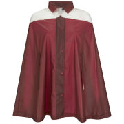 Hunter Women's Original Moustache Cape - Military Red/Desert White