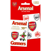 Arsenal Crests - Tattoo Pack