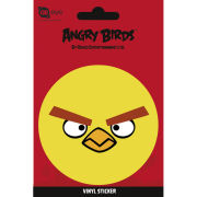 Angry Birds Yellow Bird - Vinyl Sticker - 10 x 15cm