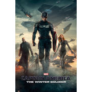 Captain America Winter Soldier One Sheet - Maxi Poster - 61 x 91.5cm