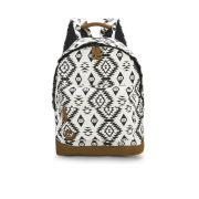 Mi-Pac Premium Native Backpack - Black/White