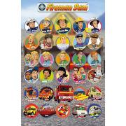 Fireman Sam Characters - Maxi Poster - 61 x 91.5cm