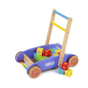Tidlo Baby Walker With ABC Blocks