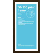 Walnut Frame 50 x 100cm