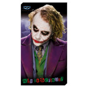 DC Comics Batman (The Dark Knight) Joker City - 30x55 Value Canvas