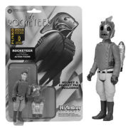 ReAction Rocketeer Black and White 3 3/4 Inch Action Figure SDCC Exclusive