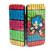 Sega Sonic The Hedgehog Multi-Coloured Logo Hinge Wallet