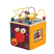 B Underwater Zoo Activity Cube