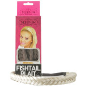 Sleep In Rollers Fish Tail Plait Chunky (Various Shades)