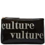 Lulu Guinness Culture Vulture T-Seam Cosmetic Purse - Black