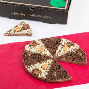 Gourmet Chocolate Pizza Co. Double Delight 7 Inch Pizza