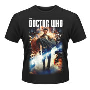Doctor Who Men's T-Shirt - Poster