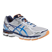 Asics Men's Gt-2000 2 Trainers - White/French Blue/Flash Orange
