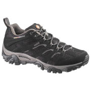 Merrell Men's Moab Gore Tex Hiking Shoes - Black