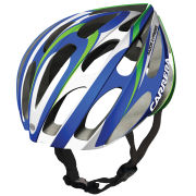 Carrera Razor X-Press 2014 Road Helmet - Blue/White/Green