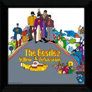 "The Beatles Yellow Submarine 2 - 12"""" x 12"""" Framed Album Prints"